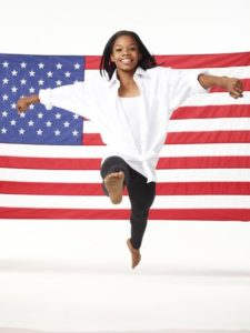 2012 SUMMER OLYMPIC GAMES -- Season: 2012 -- Pictured: Gabrielle Douglas -- Photo by: Mitchell Haaseth/NBC